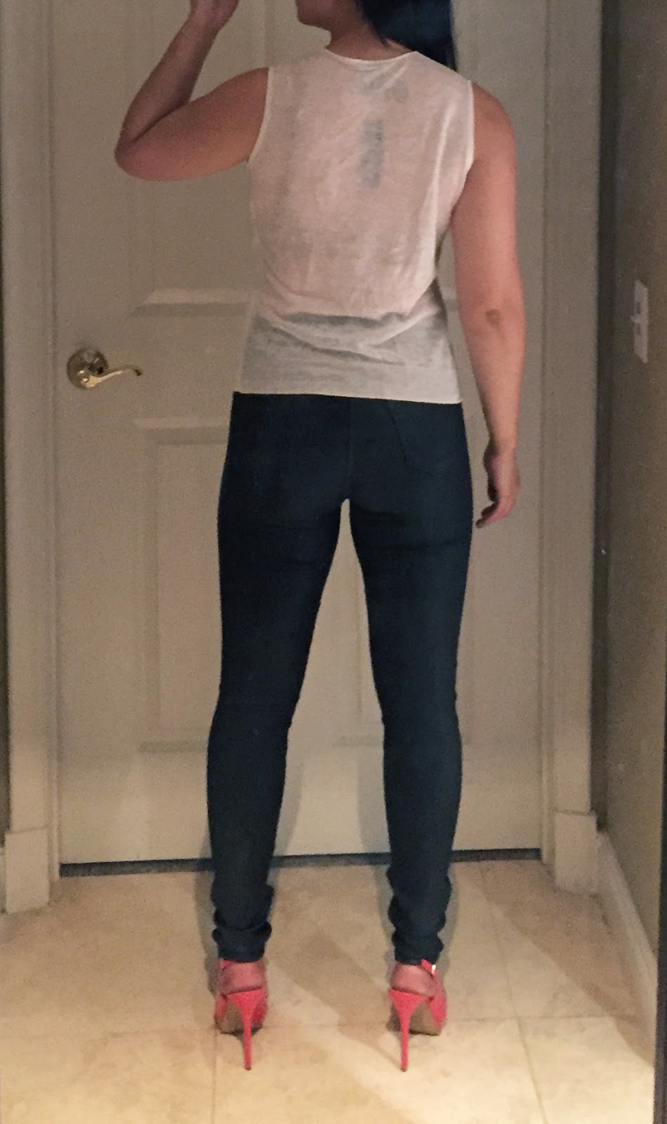 My Superficial Endeavors Ikea: My Superficial Endeavors: Theory Shirt & J Brand Jeans