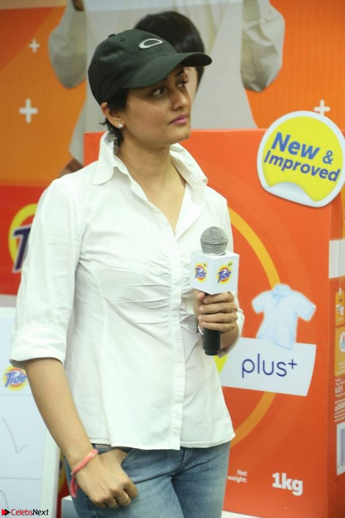 Namrata Shirodkar wife of Mahesh Babu in White Shirt and Denim spotted at The New Tide Plus Launch