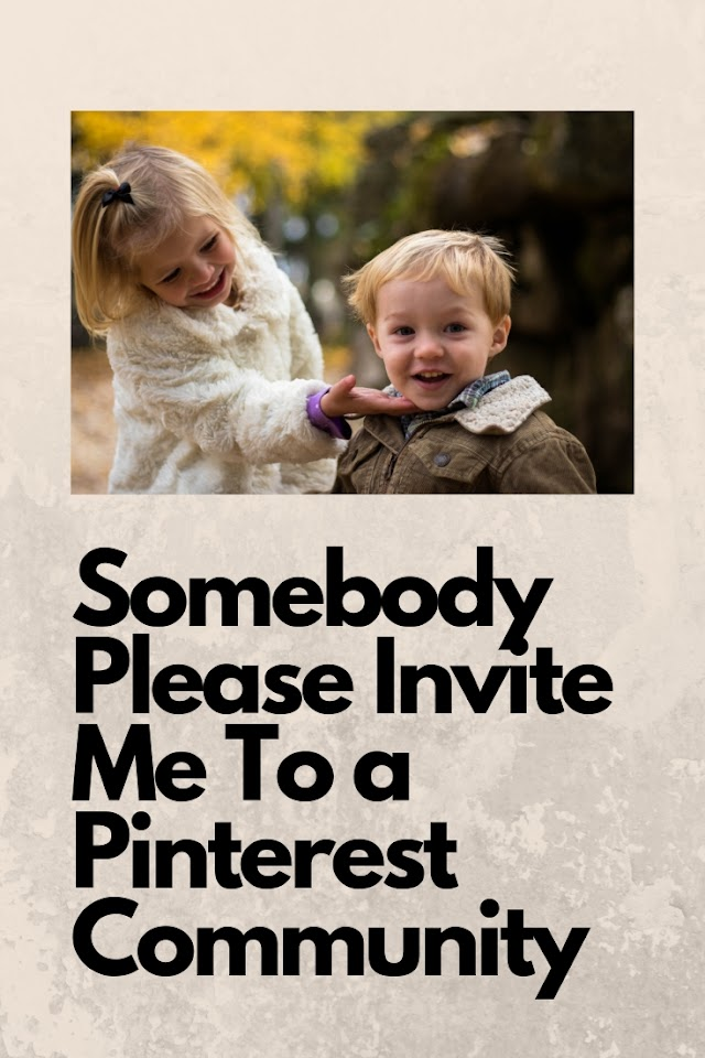 An Invitation to Join Pinterest Communities to Promote Nursery Rhymes