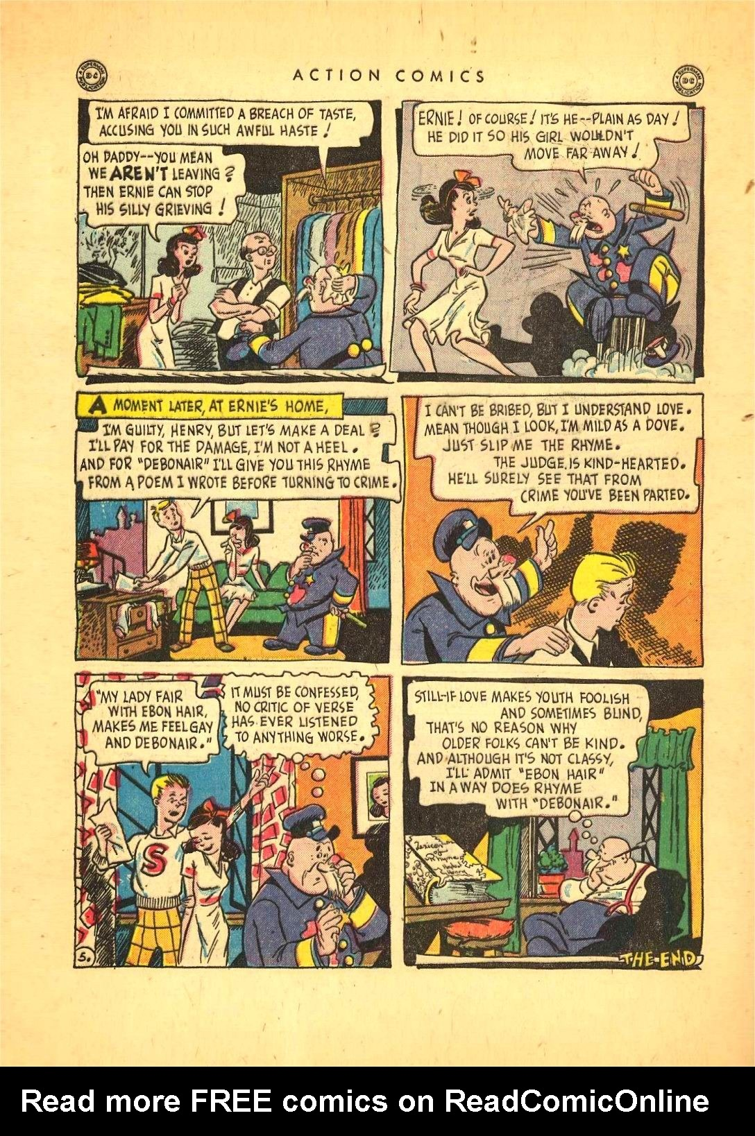 Read online Action Comics (1938) comic -  Issue #92 - 40