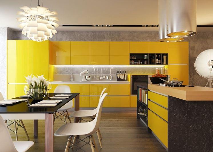 Arredamento e dintorni cucine colorate - Cucine moderne gialle ...