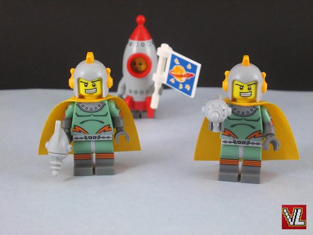 Set Lego 71018 Minifigures series 17