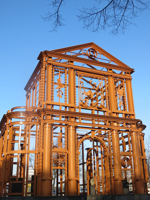 Delft Gate in Rotterdam