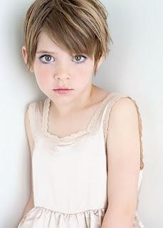 Model Rambut Pixie Anak