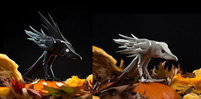 Ravenous Resin Figure by Colus x Kidrobot