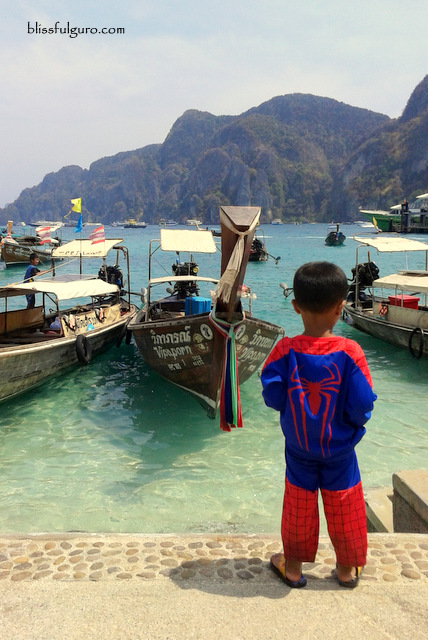 Tonsai Bay Koh Phi Phi Thailand