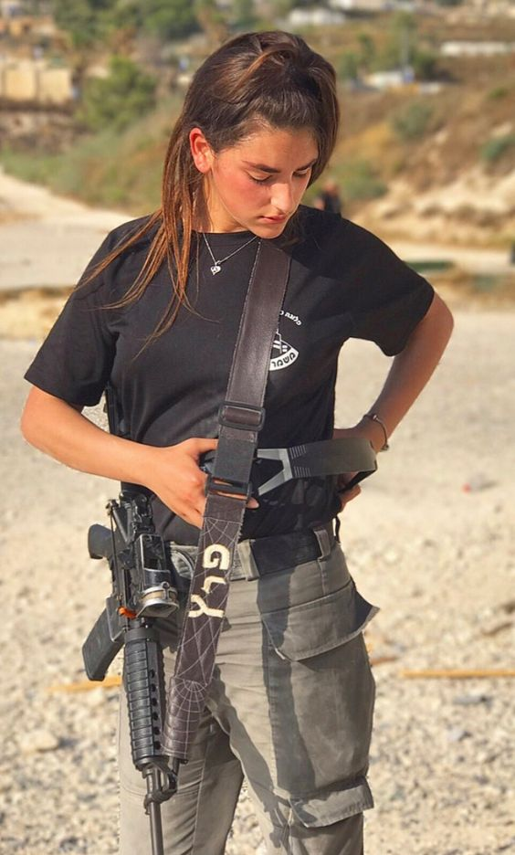 Amazing Wtf Facts Beautiful Women In Israel Defense Forces - Idf Army Girls - Israel -3263