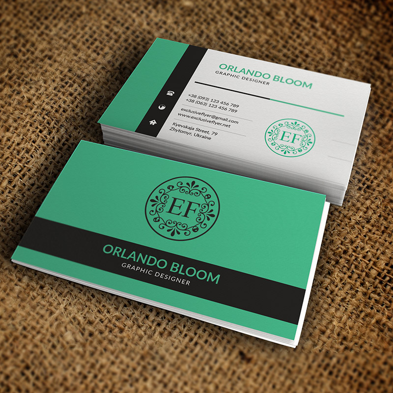 Custom Business Cards Printing Design
