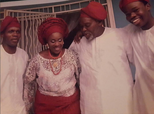 joke silva olu jacobs wedding anniversary