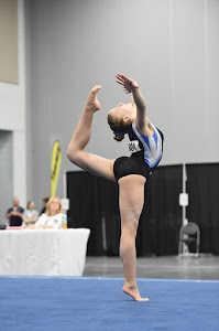 Floor Routine at Easterns