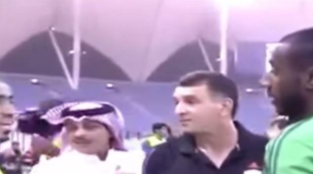 """Video, Photos: Saudi Goalkeeper's Mohawk Cut Off By Referee During Game Because It's """"Anti Islamic"""""""