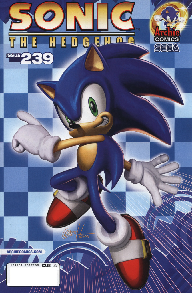 Read online Sonic The Hedgehog comic -  Issue #239 - 1