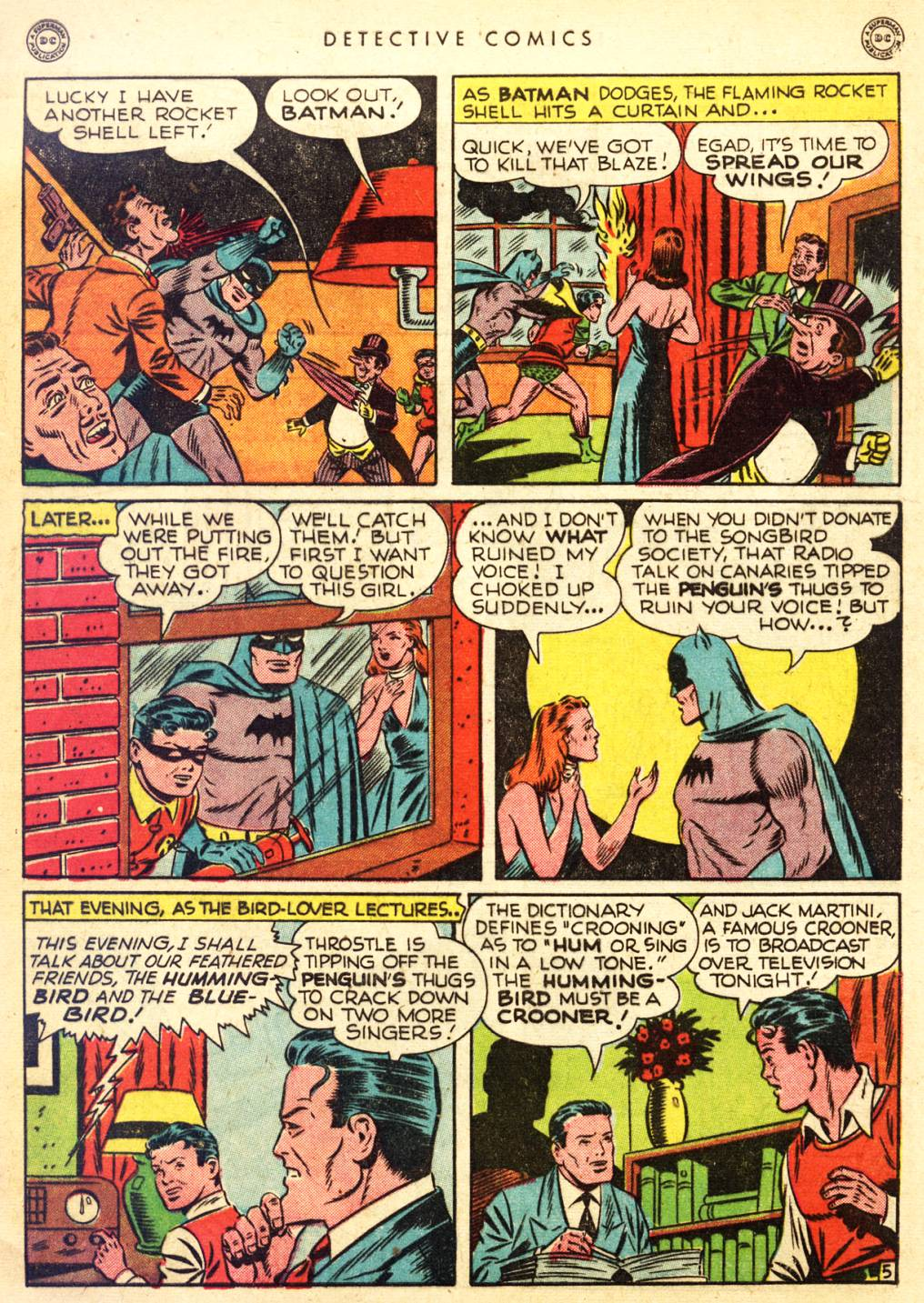 Read online Detective Comics (1937) comic -  Issue #126 - 7