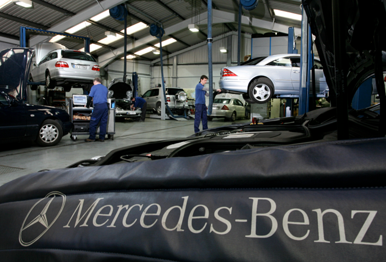 Mercedes-Benz Mechanic School