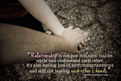 Relationship Is Not Just Holding Hands | Best Quotes
