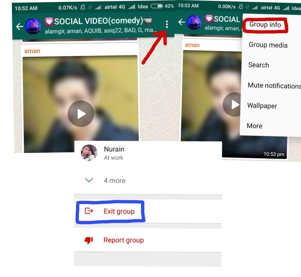 Whatsapp Pe Dost Ne Block Kiya To Khud Se unblock kaise kare - 2019