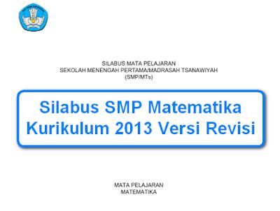 Silabus SMP Matematika Kurikulum 2013