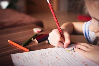 Image: Child Writing, by picjumbo on Pixabay