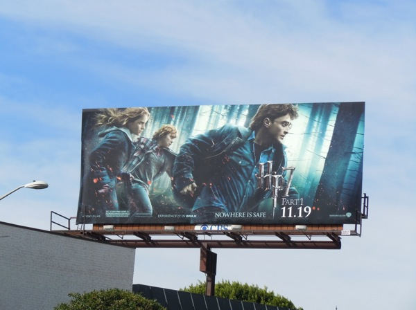 Harry Potter 7 Part 1 movie billboard