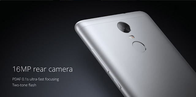 To capture your important moments, this phone is equipped with main camera 16.0 MP with 78 degree wide-angle f/2.0 aperture, a back camera. For selfie there are 5 MP front cameras.