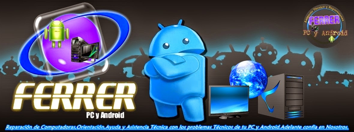 Ferrer PC y Android