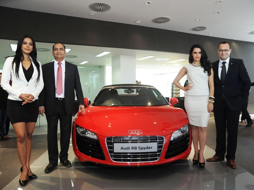 Audi Opens Largest Luxury Car Showroom In Ahmedabad Wheel O Mania
