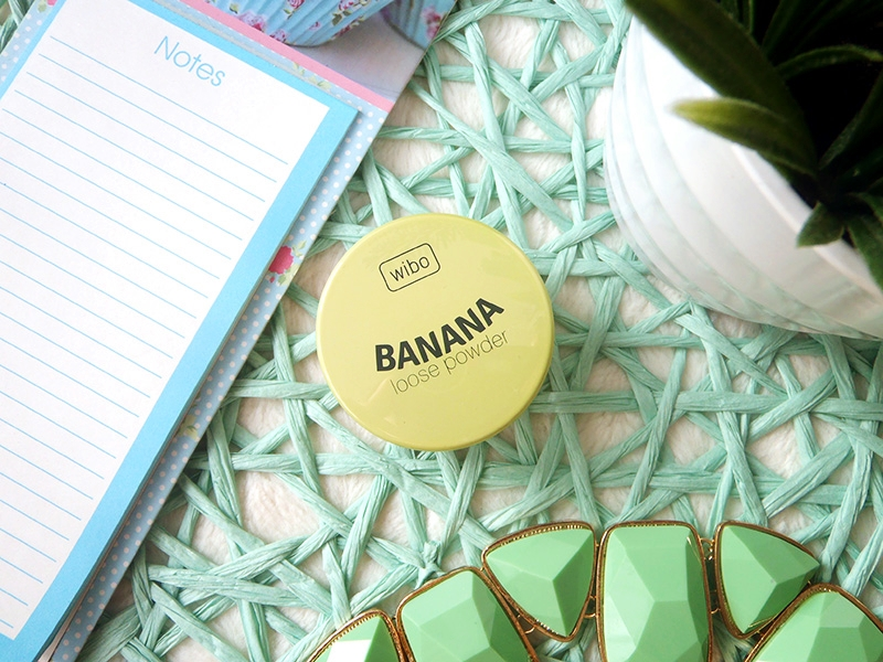 wibo banana loose powder