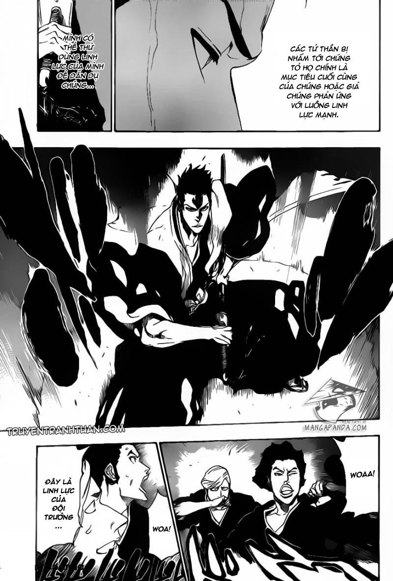 Bleach chapter 530 trang 16