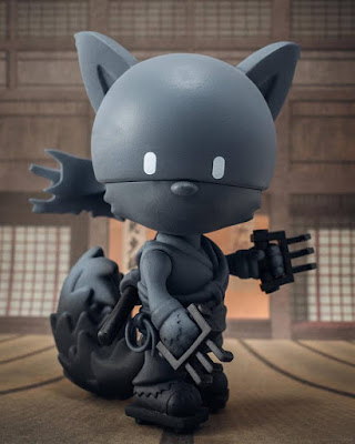 Singapore Toy Game and Comic Convention 2016 Exclusive Gold Life Shadow Edition Vinyl Figures by Huck Gee x Mighty Jaxx - Soul Collector, Raku Day & Raku Night