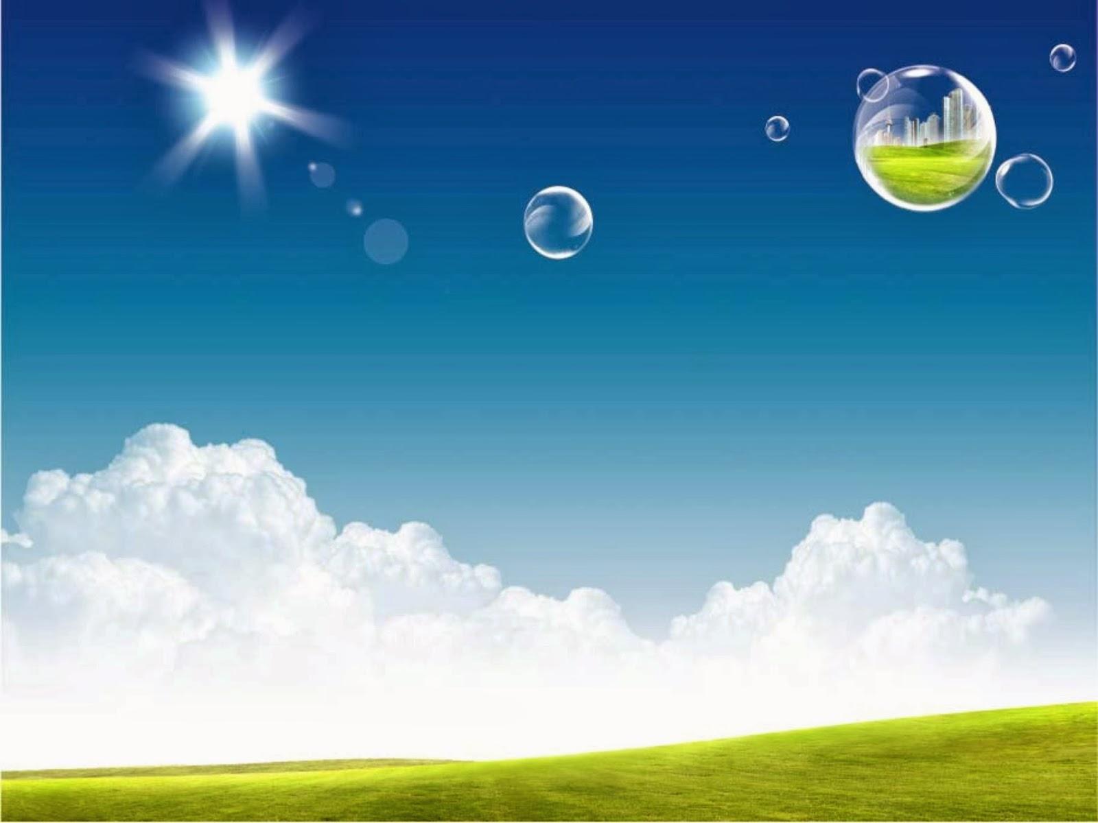 Nature Powerpoint Background 002 ~ แจก Powerpoint Template สวยๆ