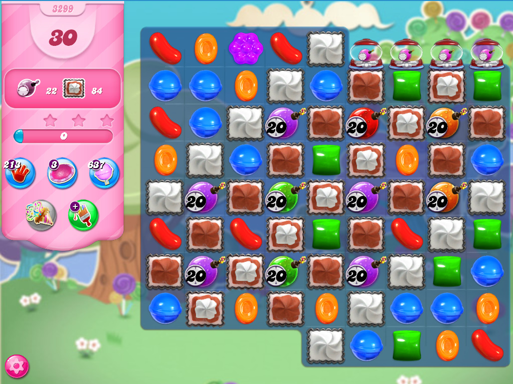 Candy Crush Saga level 3299