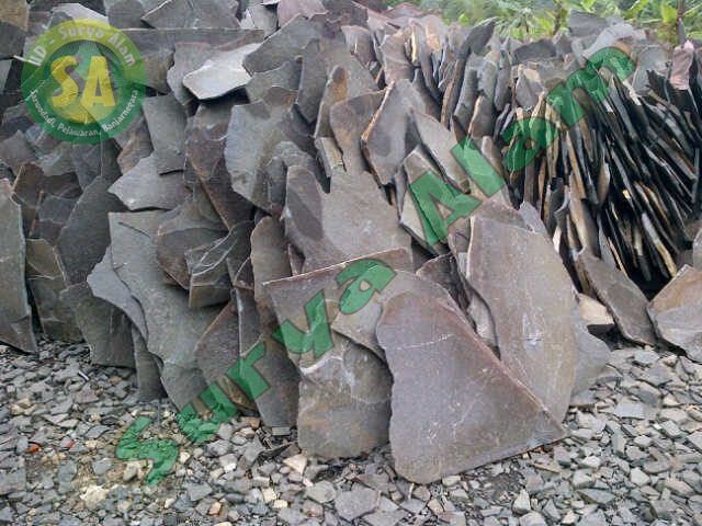 Batu Lempeng Acak Abu