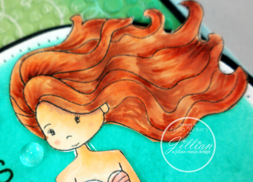 A Jillian Vance Design, Whimsie Doodles, Copic markers, Kecia Waters
