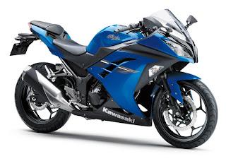 Kawasaki Ninja 250 STD 2017 Biru