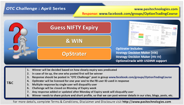 OTC Challenge: May Series, 2017