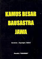 KAMUS BESAR BAUSASTRA JAWA