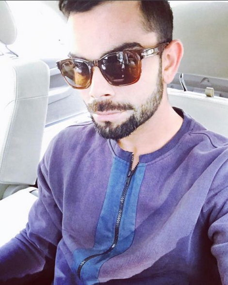 how to look like virat kohli