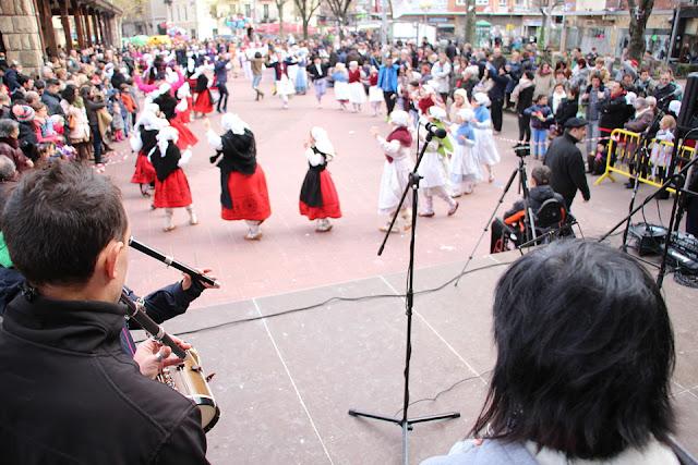 Danzas en las fiestas de San Vicente