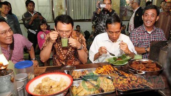 Kuliner Angkringan Alias Warung Sego Kucing Populer di Semarang