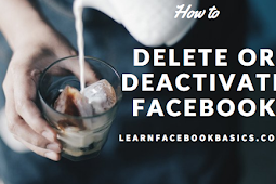 How do you delete or deactivate your Facebook account temporarily? #DeleteFacebook