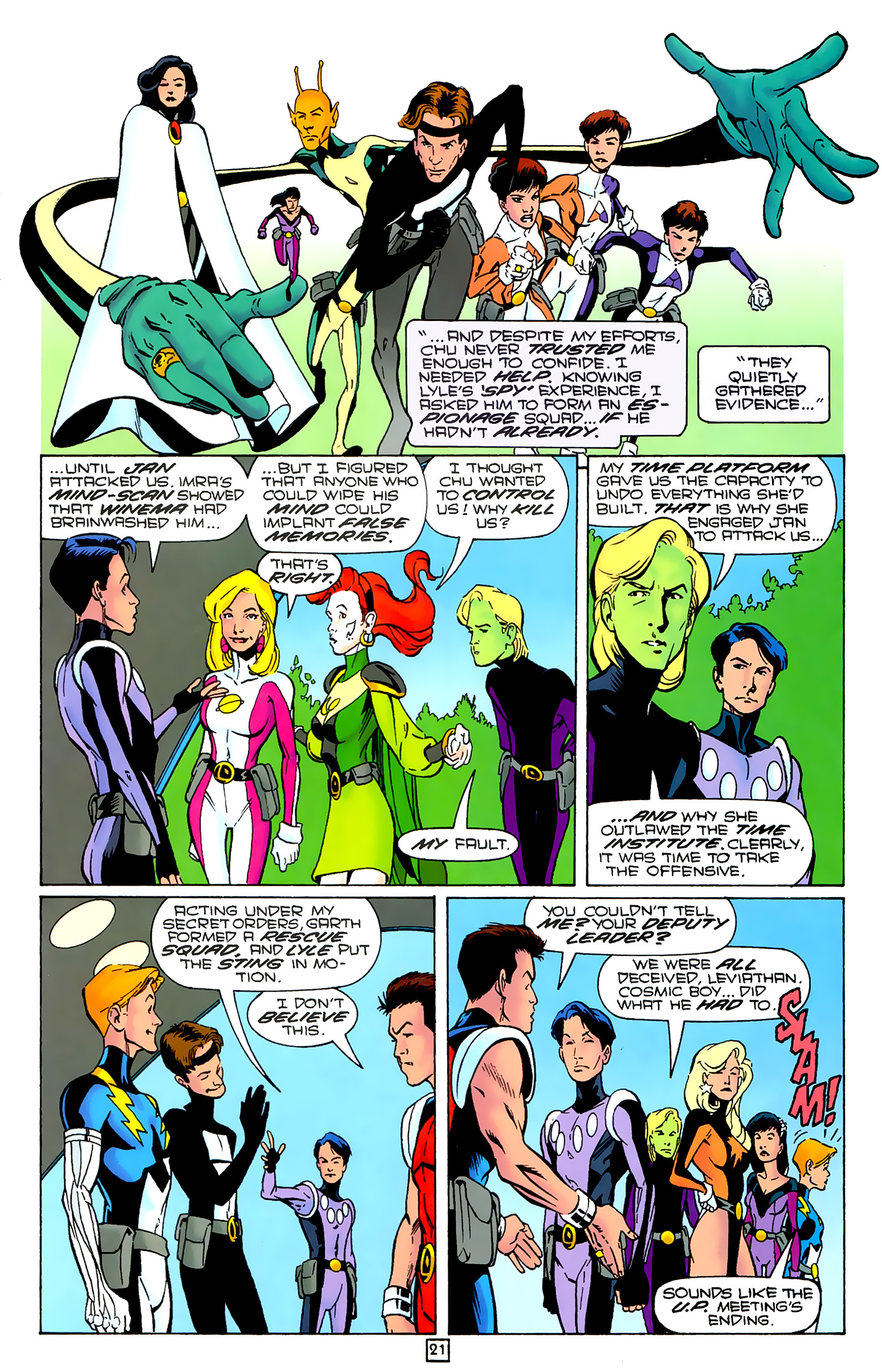 Legion of Super-Heroes (1989) 80 Page 20