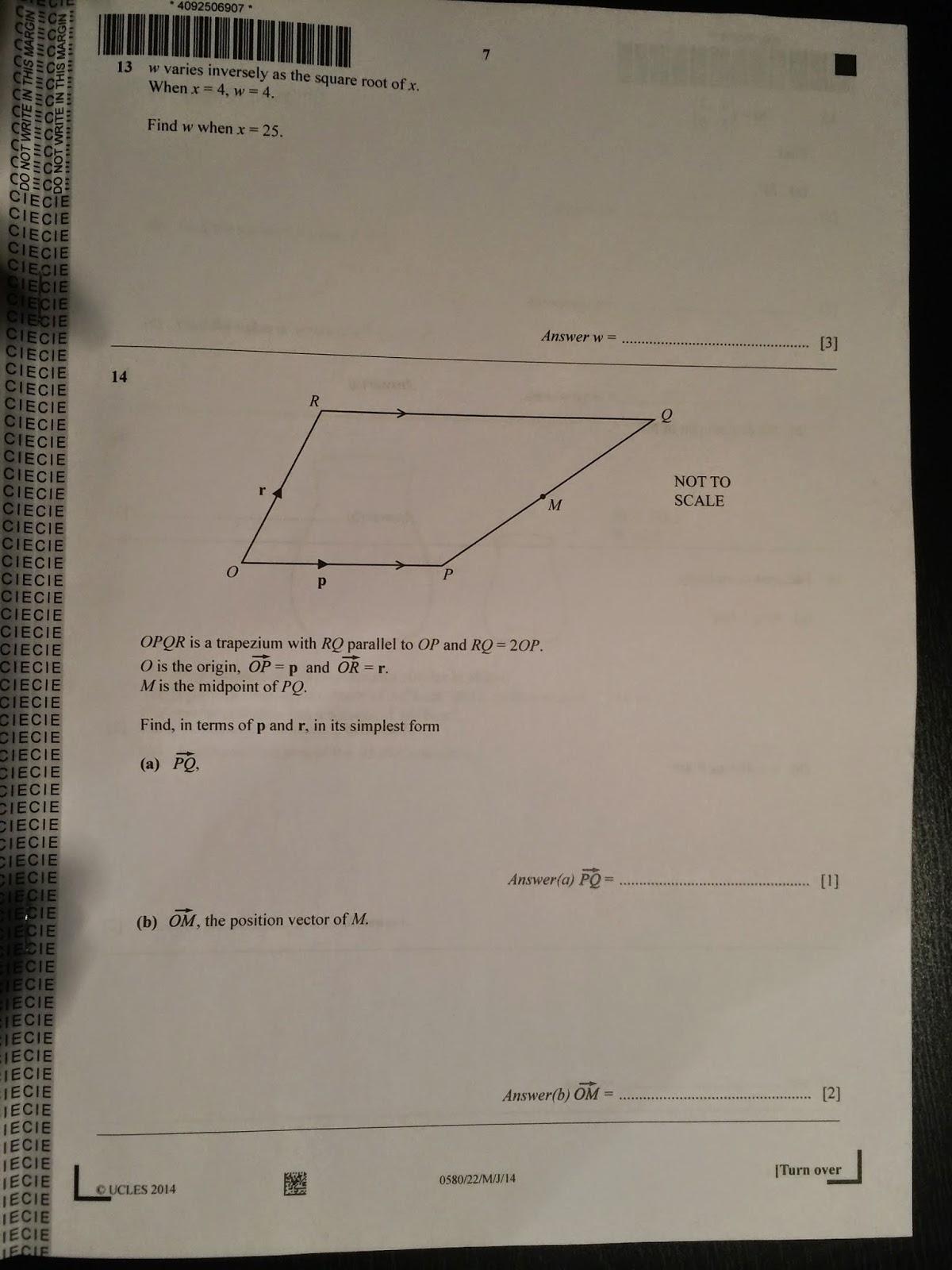 2010 Math paper2