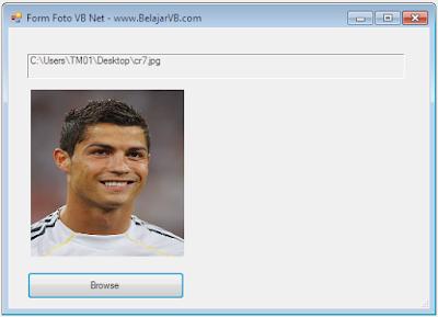 Cara Memunculkan Foto Pada Form VB Net 2010 | Tempat Belajar VB .Net