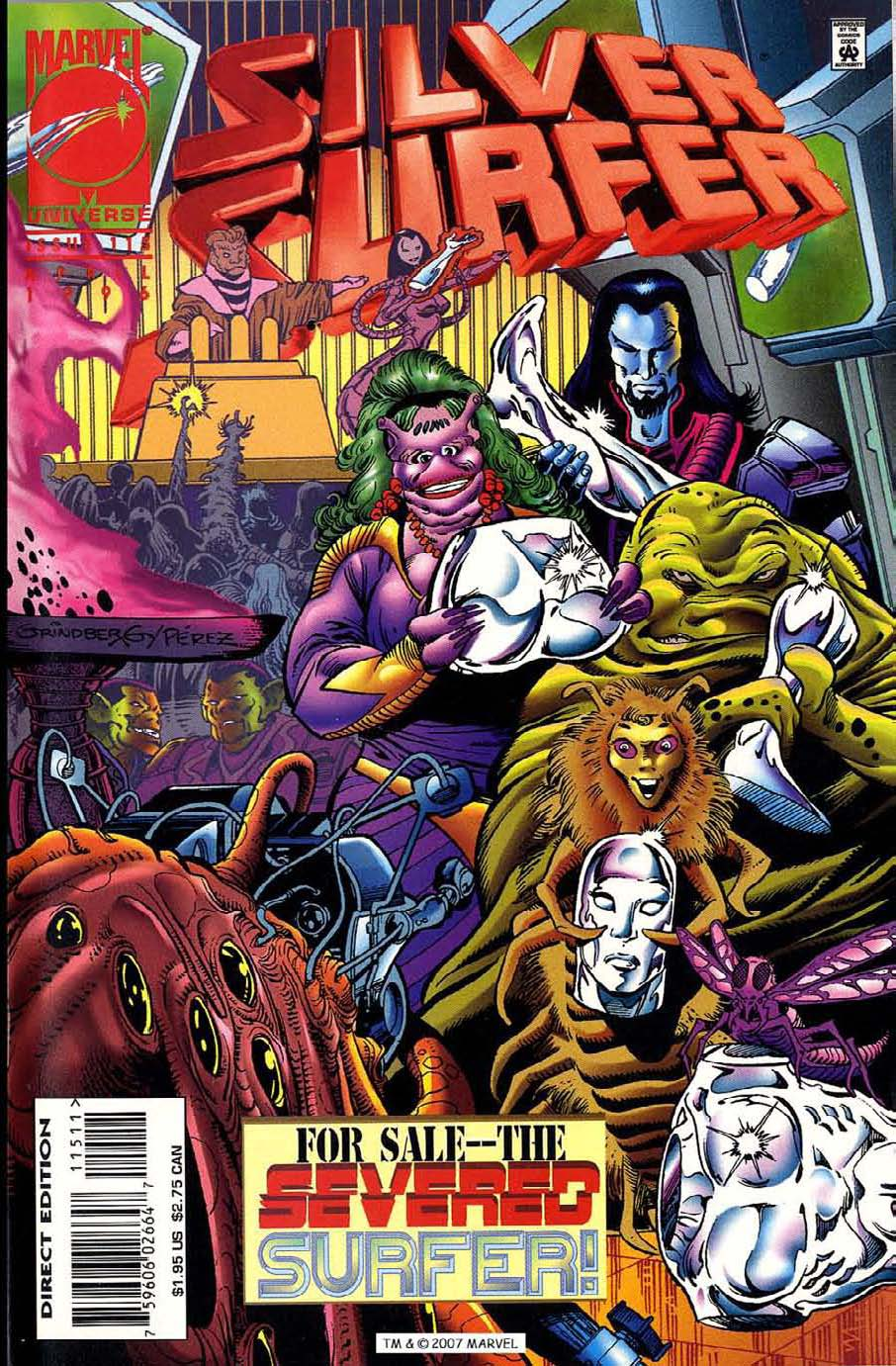 Read online Silver Surfer (1987) comic -  Issue #115 - 1