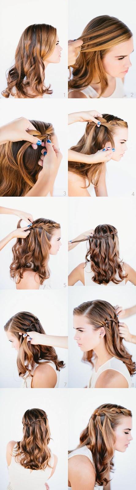 Peinados de trenzas modernas paso a paso elainacortez - Como hacer peinados faciles y bonitos ...