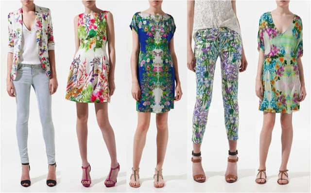 Floral+Fashion+Trend Spring/Summer Floral Print Trend +