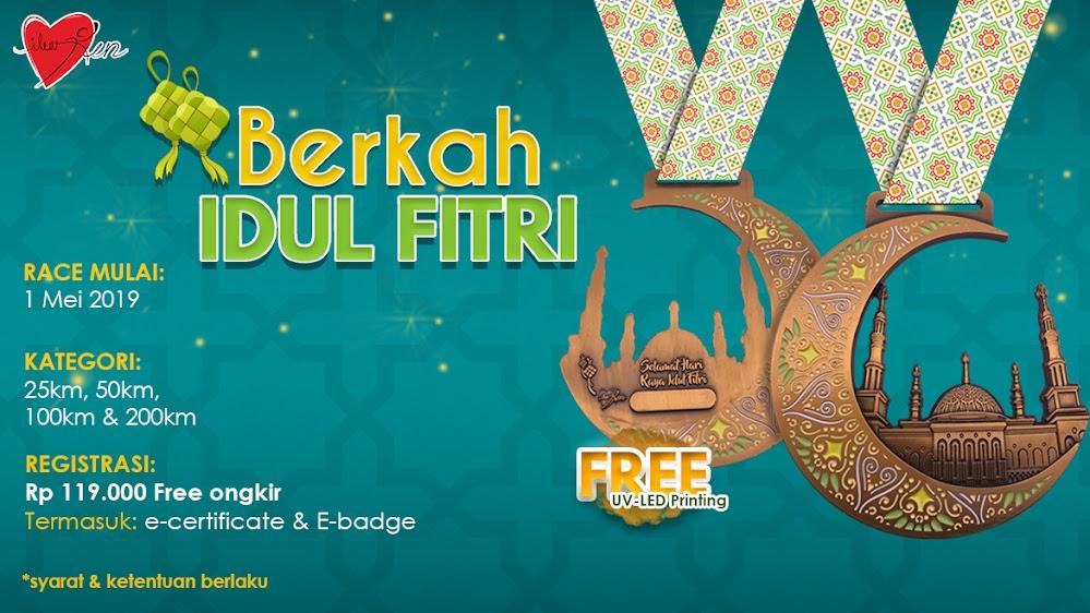 Berkah Idul Fitri Virtual Run • 2019
