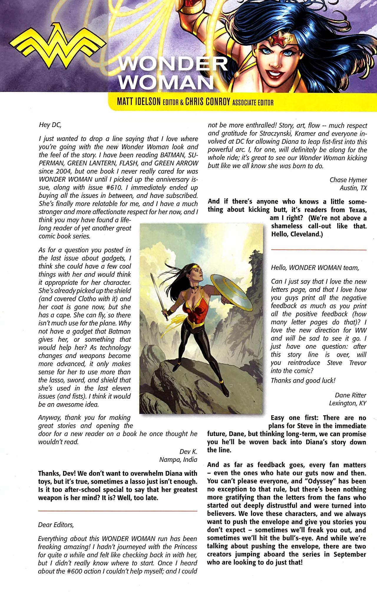 Read online Wonder Woman (2006) comic -  Issue #613 - 22