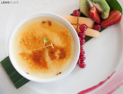 Creme Brulee at Vivanta By Taj Guwahati Assam