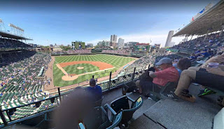 Wrigley Field is a baseball park in Chicago